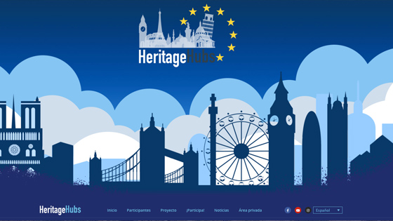 Visita la web Heritage Hubs