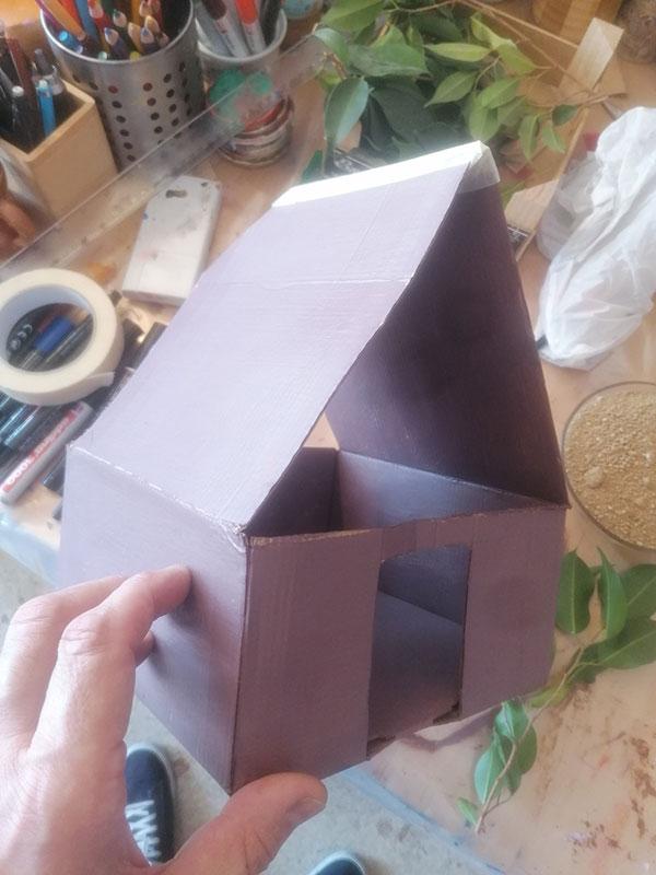 Construye una cabaña